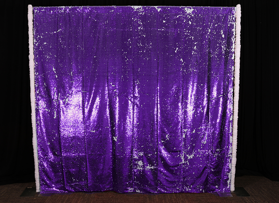 RTH Photo Booth Backdrops - Purple/Silver Mermaid