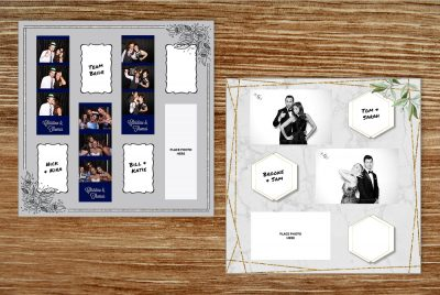 RTH Photo Booths - Scrapbook