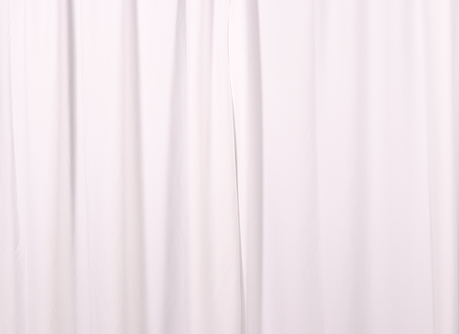 RTH Photo Booth Backdrops - White Drape