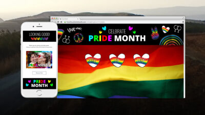 Rock The House - Virtual Pride Photo Booth
